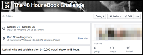 The 48 Hour eBook Challenge